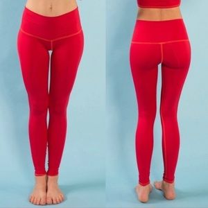 NWOT Fire on the Mountain (Red) Teeki Hot Pant